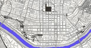 Map Of Cincinnati 1913 Flood 2