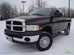 2004 deep molten red pearl dodge ram 2500 slt regular cab 4x4