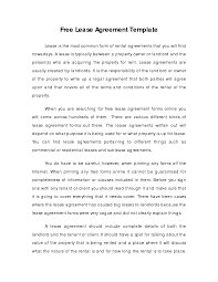 doc 407527 home lease agreement template u2013 printable residential