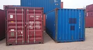 cargo worthy vs wind and water tight shipping containers