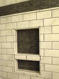 bathroom shower niche ideas swanstone shower wall shelf