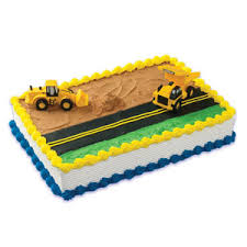 construction cake toppers cake kits