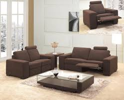 Brown Fabric Sofa Set 0918 Recliner Fabric Sofa Set Sofa Sets