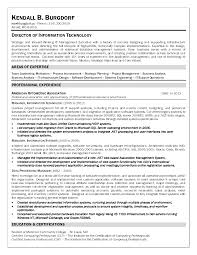 Oracle Dba Resume Example Director Information Technology Resume Resume For Your Job