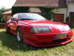 renault alpine a610 view of renault alpine a 610 photos video features and tuning