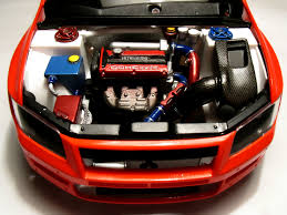 mitsubishi evolution 7 4g63 engine set for tamiya lancer evo vii modelling master
