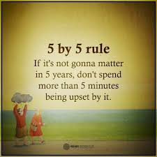 Quotes About Loving And Letting Go by Let Go Quotes 5 By 5 Rule If It U0027s Not Gonna Matter In 5 Years Don