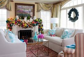 crown ornaments living room traditional with window