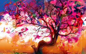 abstract art tree wallpaper hd artworks android wallpapers