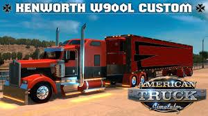 kenworth truck bumpers american truck simulator kenworth w900l custom pinga edit 1 6