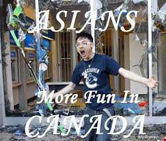 Angry Asian Meme - image 495940 angry vancouver fan angry asian rioter know