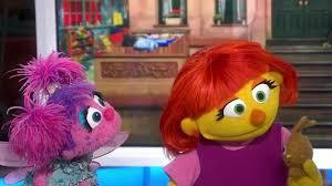 meet julia u0027sesame street u0027 muppet autism today
