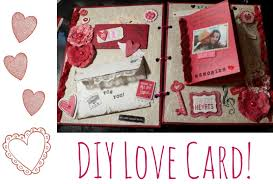 Handmade Cards For Birthday For Boyfriend Cute Diy Card For A Loved One Youtube