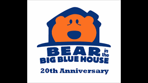 bear in the big blue house no harm cover happy 20th anniversary