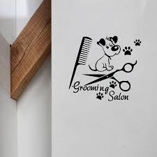 sticker remover picture more detailed picture about pet grooming pet grooming salon wall deacsl dog mural on the wall vinyl art sticker for pet shop