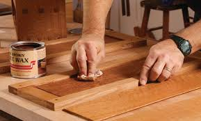 wax for wood table mixing and applying wax startwoodworking com