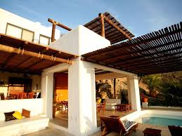 beautiful beachfront villa with private pool and service from