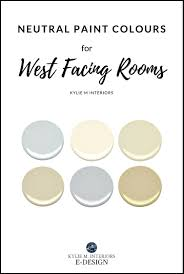 best gray neutral and beige paint colours for west facing room