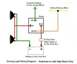 driving light wiring diagram toyota driving wiring diagrams