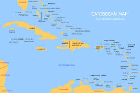 Map Of Caribbean Islands And South America by Where Is Jamaica Located