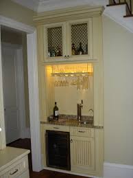 bar cabinet with fridge home appliances decoration