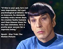 Spock Memes - atheist memes spock if this is your god