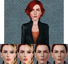 sims 3 african american hairstyles scarlett johansson black widow sims 3 download by oneeuromutt on