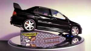 mitsubishi lancer evo 1 mitsubishi lancer evolution evo 8 schwarz 1 18 led exclusiver