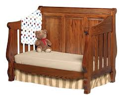 Convertible Baby Cribs Heirloom Amish Solid Wood Convertible Baby Crib