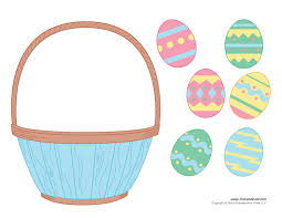 easter basket template easter basket clipart u0026 easter craft