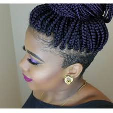 braids with bald hair at the bavk braids with shaved sides braids by juz pinterest shaved