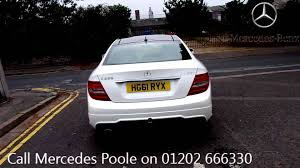 mercedes of poole 2011 mercedes c250 amg sport edition 125 white metallic