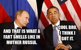 Obama Putin Meme - obama warns russia more sanctions coming due to crimea crisis
