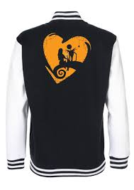 and sally is nightmare before varsity jacket