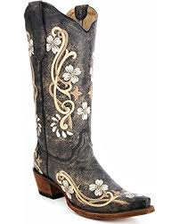 womens boots on amazon amazon com circle g s floral embroidered boot snip