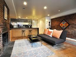 Modern English Living Room Design Hip U0026 Historic Combined Modern English Basement Apartment In