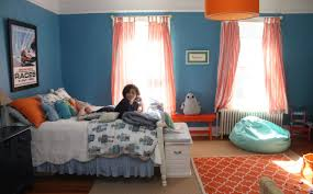 Kitchen Curtains Blue Curtains Blue And Orange Burnt Awesome Turquoise Horrible Shower