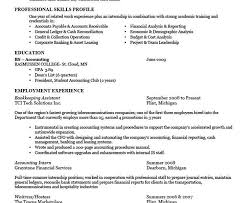 Sample Resume For Bookkeeper Accountant by Bookkeeping Resumes Cv01 Billybullock Us