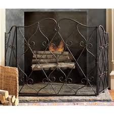 French Country Fireplace - fireplace screen french country pierre deux polyvore