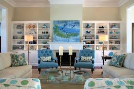 Glamorous  Beach House Living Room Chairs Decorating Design Of - Coastal home interior designs