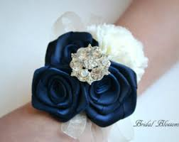 Corsage And Boutonniere For Prom Prom Wrist Corsage Etsy