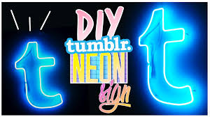 Lights Room Decor by Diy Neon Light Sign Neonlichter Als Room Decor Youtube