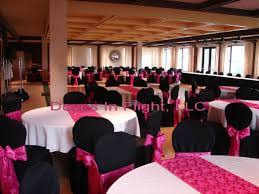 decoration mariage noir et blanc idées de décoration pour mariage en noir et fushia