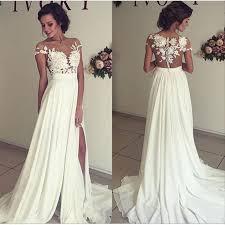 prom style wedding dress vestidos de novia baratos robe mariage bohemian style