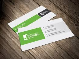 column layout business card design psd file free