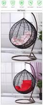 Garden Egg Swing Chair Outdoor Indoor Furniture Garden Egg Swing Rattan Wicker Hanging
