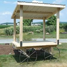 Amish Patio Furniture Amish Made Produce Wagon