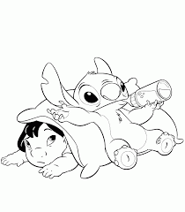 lilo stich coloring pages