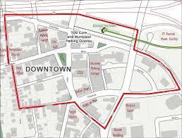 Ccsu Map City Of New Britain Transit Oriented Development