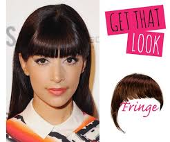 clip in fringe fringe get that look with our clip in